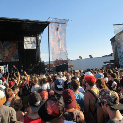 Warped Tour Crowds