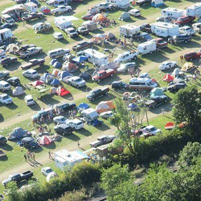 We Fest Campground aerial